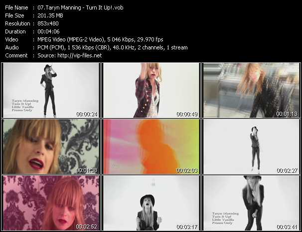 Taryn Manning - Turn It Up!