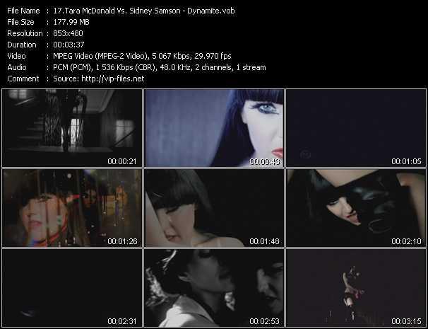 Tara McDonald Vs. Sidney Samson - Dynamite