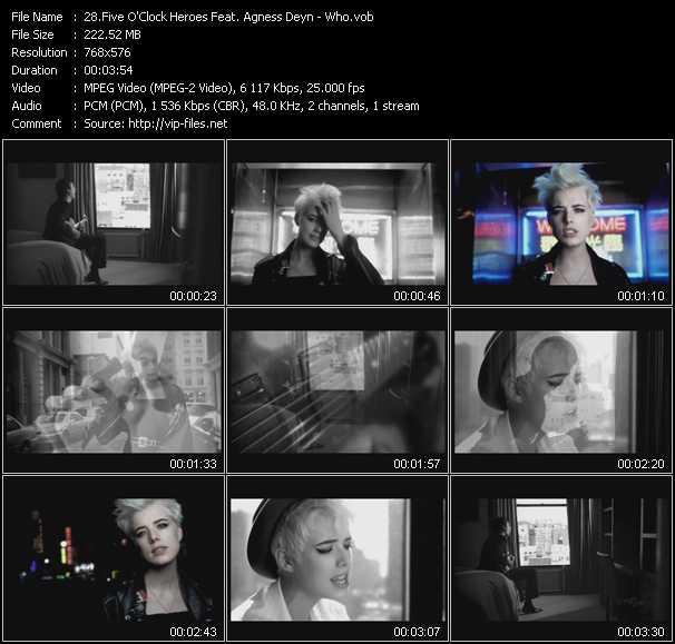 Five O'Clock Heroes Feat. Agness Deyn - Who