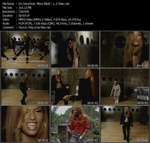 Ciara Feat. Missy Elliott - 1, 2 Step