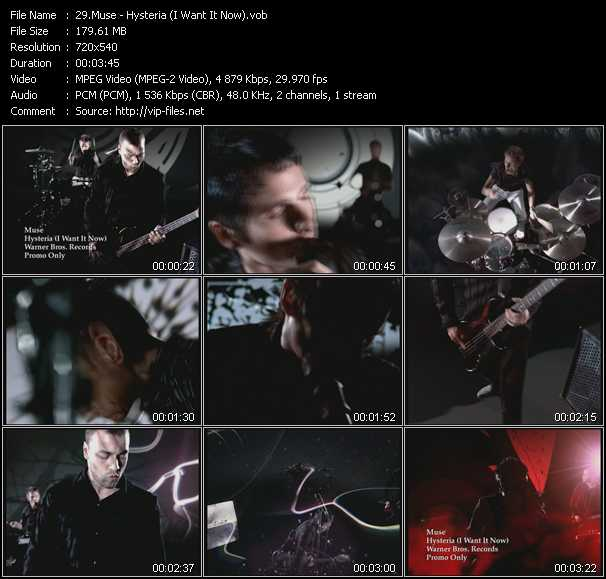 Muse - Hysteria (I Want It Now)