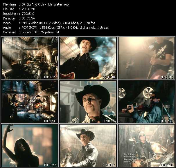 Big And Rich - Holy Water