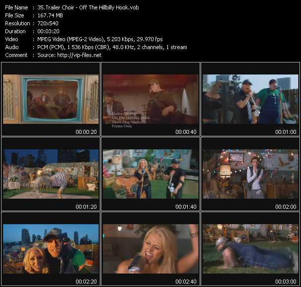 Trailer Choir - Off The Hillbilly Hook
