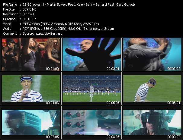 Yovanni - Martin Solveig Feat. Kele - Benny Benassi Feat. Gary Go - Hello (Remix) - Ready 2 Go - Cinema