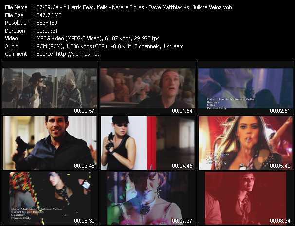 Calvin Harris Feat. Kelis - Natalia Flores - Dave Matthias Vs. Julissa Veloz - Bounce - Dumb - Sweet Sugar Poison