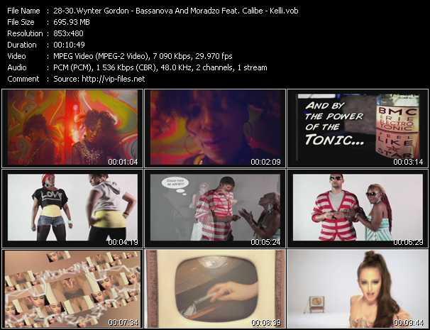 Wynter Gordon - Bassanova And Moradzo Feat. Calibe - Kelli - Til Death - Like A Star - Gave Up On Love