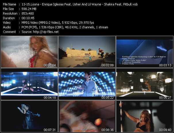 Loona - Enrique Iglesias Feat. Usher And Lil' Wayne - Shakira Feat. Pitbull - Vamos A La Playa - Dirty Dancer (PO Intro Edit) - Rabiosa