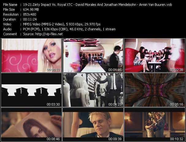 Dirty Impact Vs. Royal XTC - David Morales And Jonathan Mendelsohn - Armin Van Buuren Feat. Nadia Ali - Tom's Diner (PH Electro Video Club Mix) - You Just Don't Love Me - Feels So Good (Tristan Garner Remix)