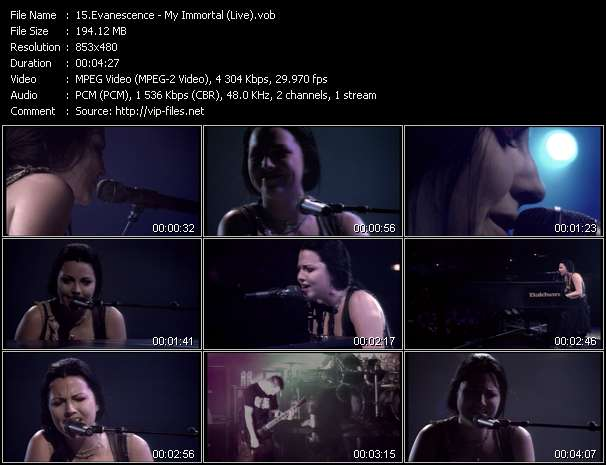 Evanescence - My Immortal (Live)