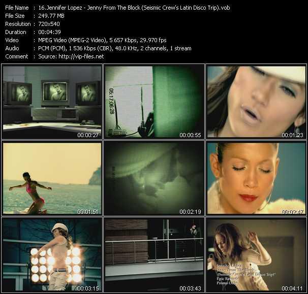 Jennifer Lopez - Jenny From The Block (Seismic Crew's Latin Disco Trip)