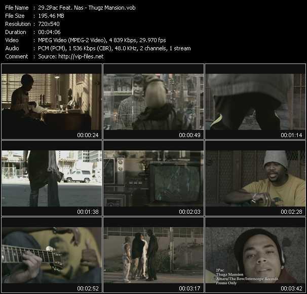 2Pac (Tupac Shakur) Feat. Nas - Thugz Mansion