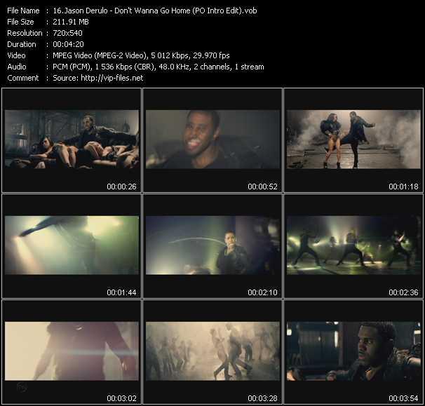 Jason Derulo - Don't Wanna Go Home (PO Intro Edit)
