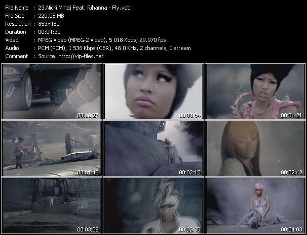 Nicki Minaj Feat. Rihanna - Fly