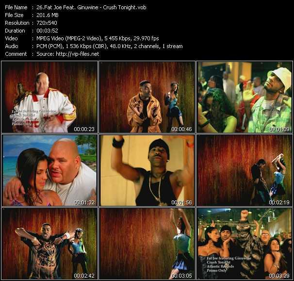 Fat Joe Feat. Ginuwine - Crush Tonight