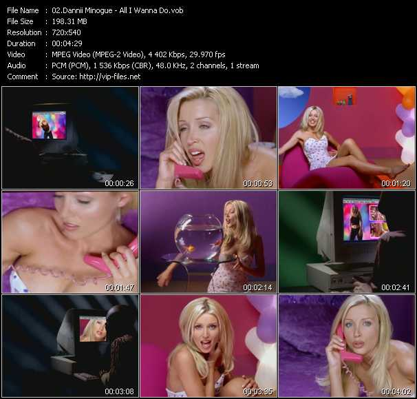Dannii Minogue - All I Wanna Do