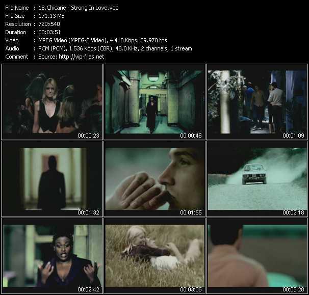 Chicane Feat. Sylvia Mason-James - Strong In Love