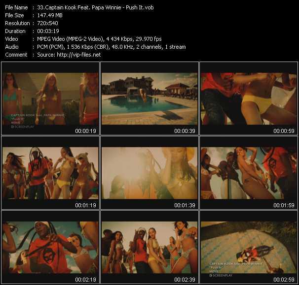 Captain Kook Feat. Papa Winnie - Push It