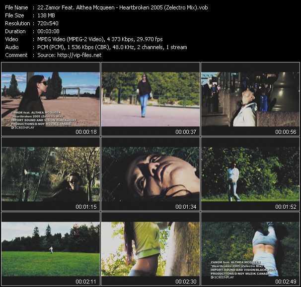 Zamor Feat. Althea Mcqueen - Heartbroken 2005 (Zelectro Mix)
