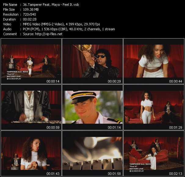 Tamperer Feat. Maya - Feel It