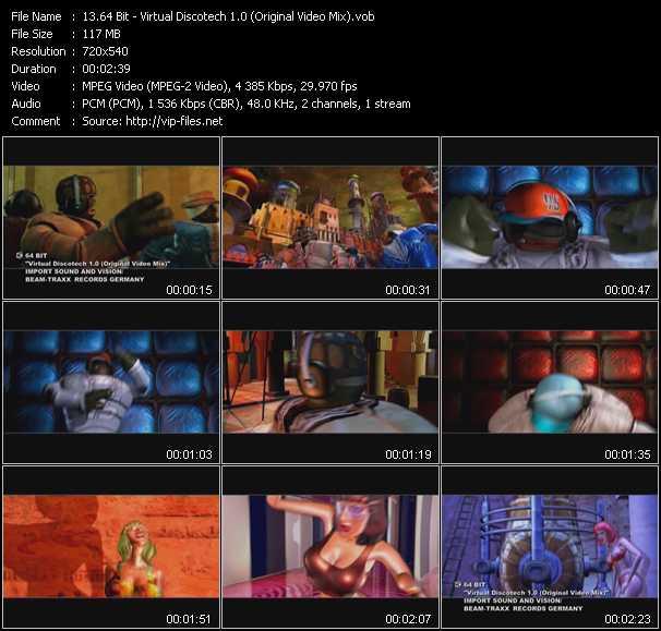 64 Bit - Virtual Discotech 1.0 (Original Video Mix)