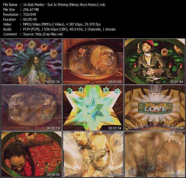 Bob Marley - Sun Is Shining (Messy Boys Remix)