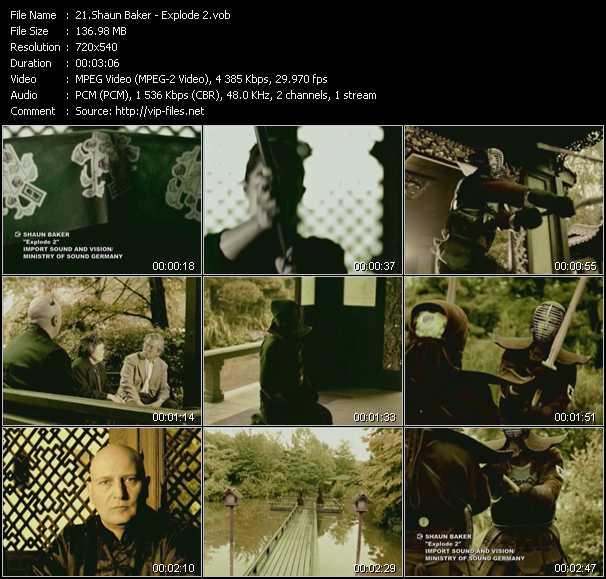Shaun Baker - Explode 2