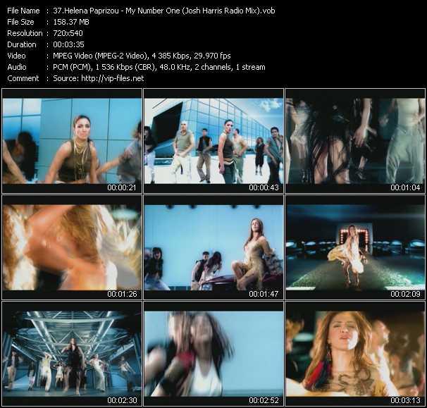 Helena Paparizou - My Number One (Josh Harris Radio Mix)