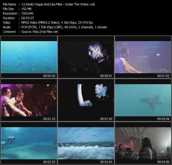 Dimitri Vegas And Like Mike - Under The Water
