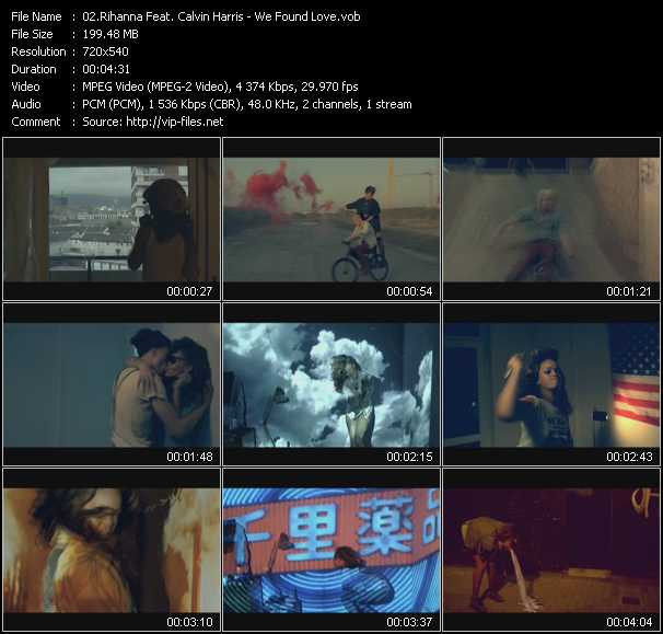 Rihanna Feat. Calvin Harris - We Found Love