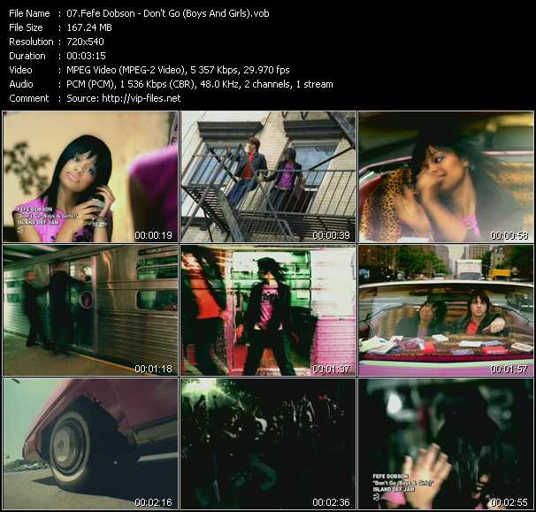 Fefe Dobson - Don't Go (Boys And Girls)