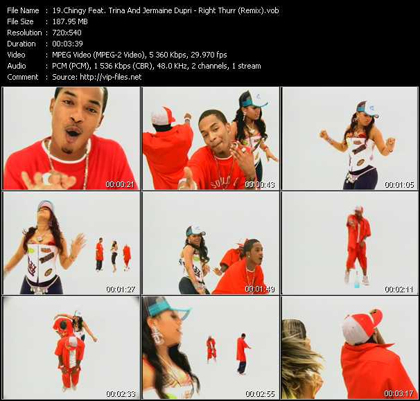 Chingy Feat. Trina And Jermaine Dupri - Right Thurr (Remix)