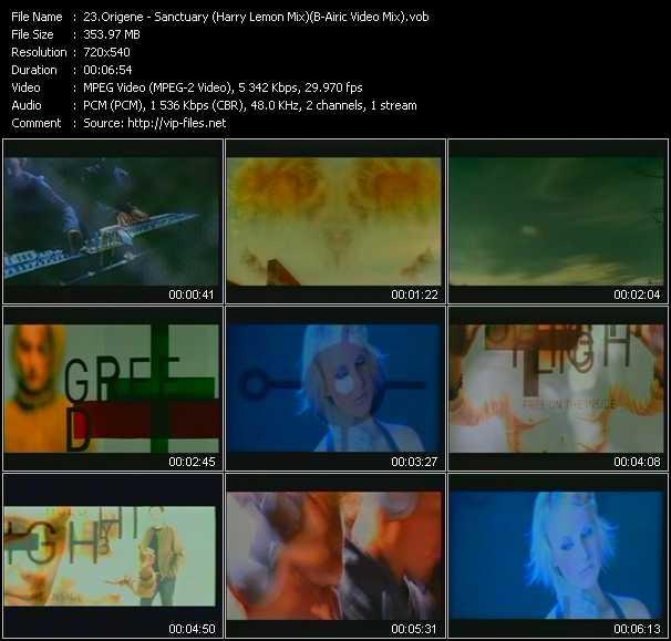Origene - Sanctuary (Harry Lemon Mix) (B-Airic Video Mix)