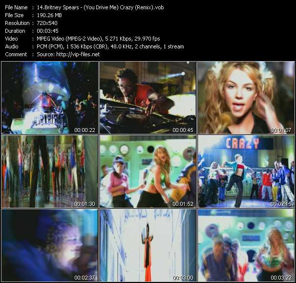 Britney Spears - (You Drive Me) Crazy (Remix)