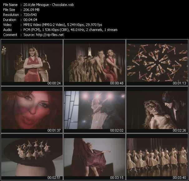 Kylie Minogue - Chocolate