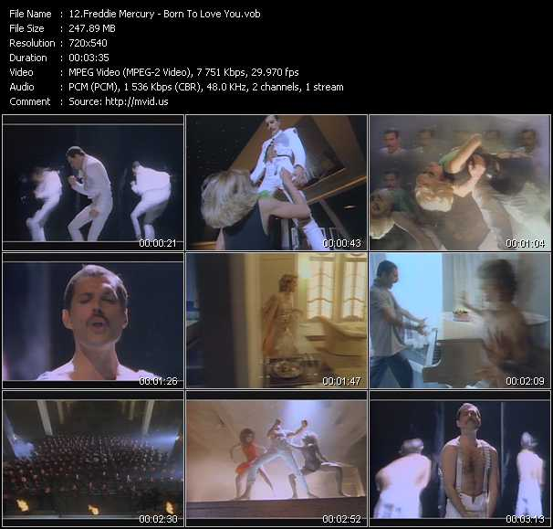 Freddie Mercury - Born To Love You