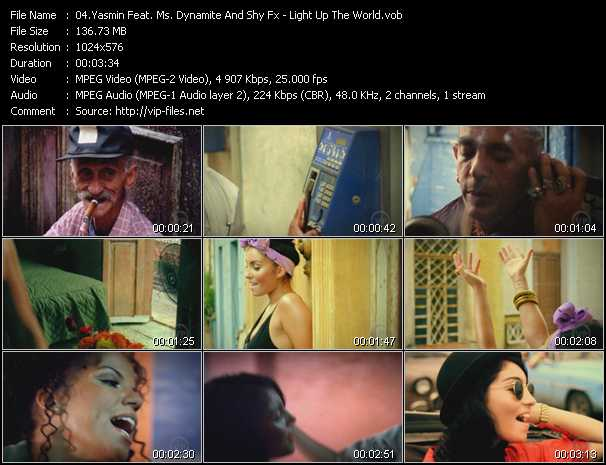 Yasmin Feat. Ms. Dynamite And Shy Fx - Light Up The World