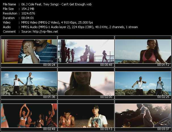 J. Cole Feat. Trey Songz - Can't Get Enough