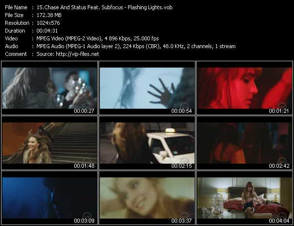 Chase And Status Feat. Subfocus - Flashing Lights