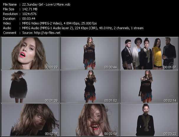 Sunday Girl - Love U More