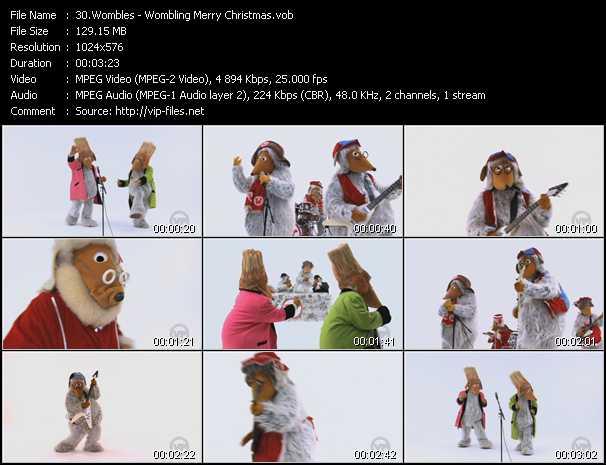 Wombles - Wombling Merry Christmas