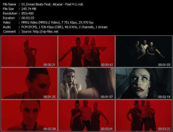 Dream Beats Feat. Alcazar - Feel 4 U