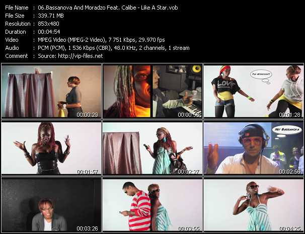 Bassanova And Moradzo Feat. Calibe - Like A Star