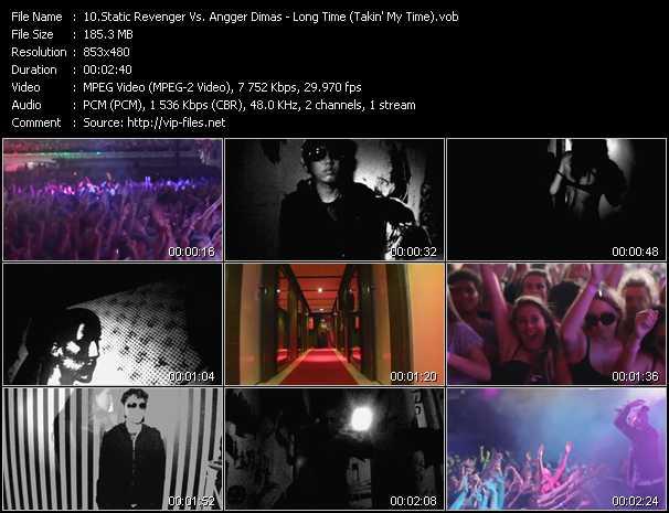 Static Revenger Vs. Angger Dimas - Long Time (Takin' My Time)