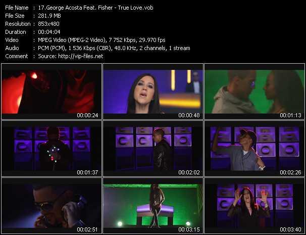 George Acosta Feat. Fisher - True Love