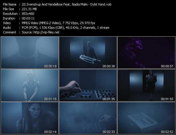 Svenstrup And Vendelboe Feat. Nadia Malm - Dybt Vand