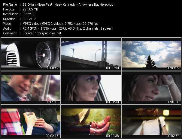 Orjan Nilsen Feat. Neev Kennedy - Anywhere But Here