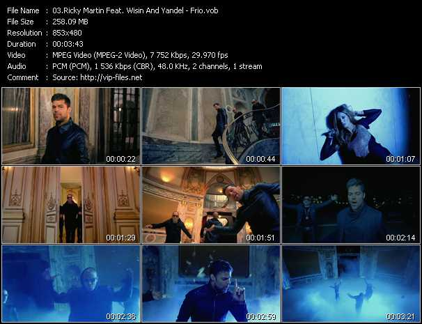 Ricky Martin Feat. Wisin And Yandel - Frio