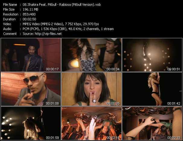 Shakira Feat. Pitbull - Rabiosa (Pitbull Version)