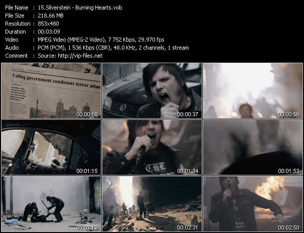 Silverstein - Burning Hearts