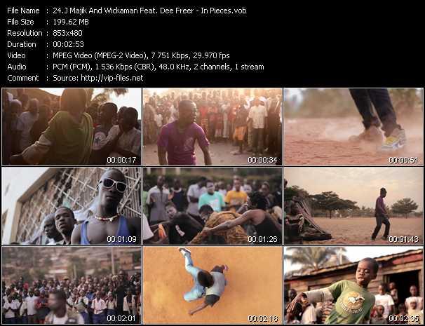 J Majik And Wickaman Feat. Dee Freer - In Pieces